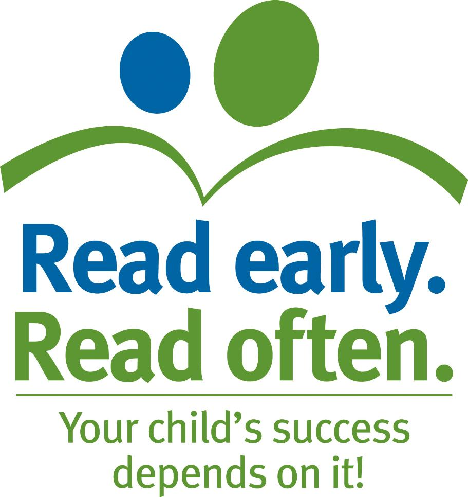 Read early. Read often. Logo.  Your child's success depends on it.